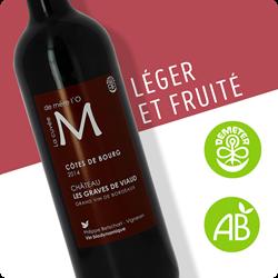 Image de Côtes de Bourg AOP - Merlot - 75cl