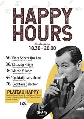 Happy hours !!